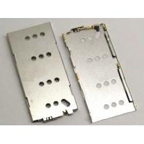 Коннектор SIM-карты для телефона Sony D2533 Xperia С3 - корпус