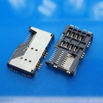 Коннектор SIM + MMC карт для телефона Lenovo P700