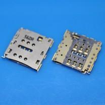 Коннектор SIM карты для телефона Huawei Ascend P7