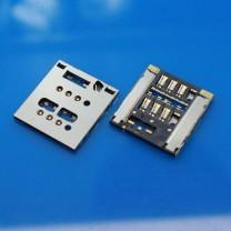 Коннектор SIM-карты для телефона Sony LT28h Xperia Ion