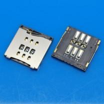 Коннектор SIM-карты для телефона Apple iPhone 6