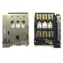 Коннектор SIM-карты для телефона HTC Desire 816