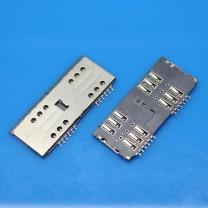 Коннектор SIM-карты для телефона Lenovo A316