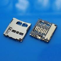 Коннектор MMC карты для планшета Samsung I9000