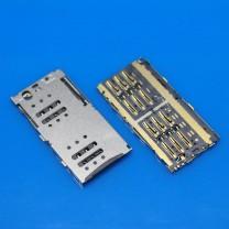 Коннектор SIM-карты для телефона Meizu M1