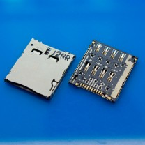 Коннектор SIM-карты для планшета Asus ME371MG FonePad K004