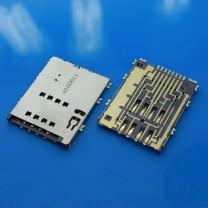 Коннектор SIM-карты для планшета Samsung P5100