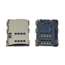 Коннектор SIM-карты для планшета Samsung N8000