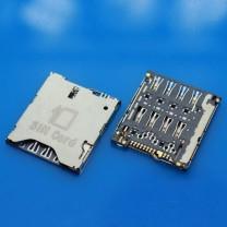 Коннектор SIM-карты для телефона Alcatel idol X OT-6040