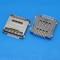Коннектор SIM-карты для телефона Lenovo S660