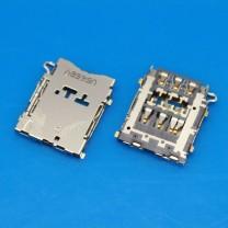Коннектор SIM-карты для телефона Samsung SM-A300F Galaxy A3