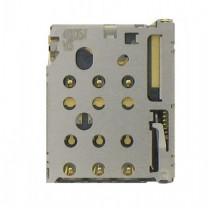 Коннектор SIM-карты для телефона Nokia 830