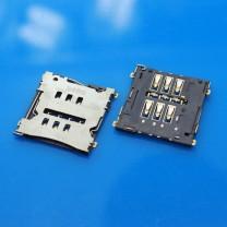 Коннектор SIM-карты для телефона LG Google Nexus 5 D820
