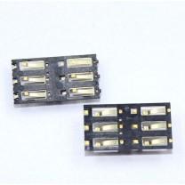 Коннектор SIM-карты для телефона Sony D2533 Xperia С3 - контакты