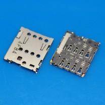 Коннектор SIM-карты для телефона Asus ZenFone 5 A501CG