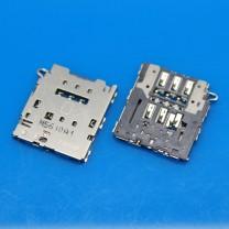 Коннектор SIM-карты для телефона Samsung G925