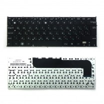 Клавиатура для ноутбука Asus Zenbook UX21, черная, без рамки