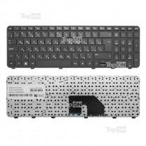 Клавиатура для ноутбука HP Pavilion DV6-6000, черная, с рамкой