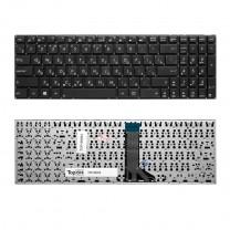 Клавиатура для ноутбука Asus X551CA, черная, без рамки