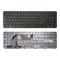 Клавиатура для ноутбука HP Pavilion 17-e, черная, с рамкой
