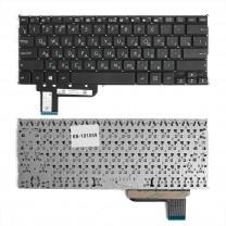 Клавиатура для ноутбука Asus T200, плоский Enter, черная, без рамки