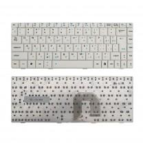 Клавиатура для ноутбука Asus U3, Г-образный Enter, белая