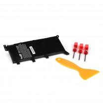 Аккумулятор для ноутбука Asus X555LD, 7.6V, 4400mAh, черный, TopOn