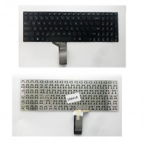 Клавиатура для ноутбука Asus S551, черная, без рамки
