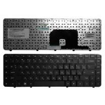 Клавиатура для ноутбука HP Pavilion DV6-3000, черная, без рамки