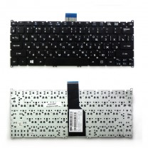 Клавиатура для ноутбука Acer Aspire S3, черная, без рамки