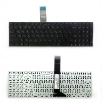 Клавиатура для ноутбука Asus X501A, черная, без рамки
