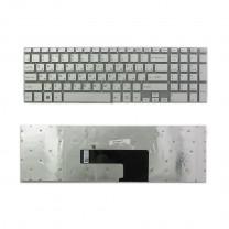 Клавиатура для ноутбука Sony SVF15, серебристая