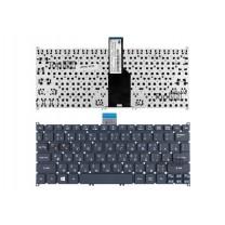 Клавиатура для ноутбука Acer Aspire One 725, черная, без рамки