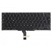 "Клавиатура для ноутбука Apple MacBook Air 11"" A1370, черная, без рамки"