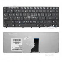 Клавиатура для ноутбука Asus UL30, черная, с рамкой