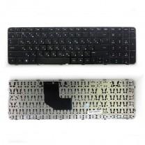 Клавиатура для ноутбука HP Pavilion G6-2000, черная, с рамкой
