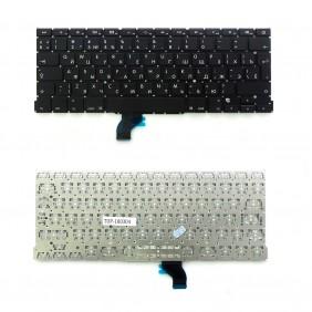 "Клавиатура для ноутбука Apple MacBook Pro 13"" A1502, черная, без рамки"