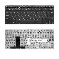 Клавиатура для ноутбука Asus UX31, черная, без рамки
