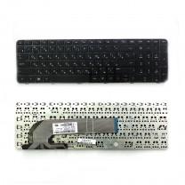Клавиатура для ноутбука HP ProBook 450 G0, черная, с рамкой