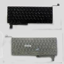 "Клавиатура для ноутбука Apple MacBook Pro 15"" A1286 , черная, без рамки"