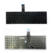 Клавиатура для ноутбука Asus X502, черная, без рамки