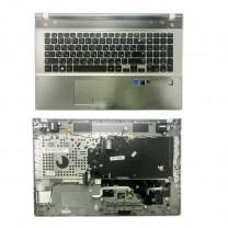 Клавиатура для ноутбука Samsung NP550P7C, черная, c топкейсом