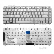 Клавиатура для ноутбука HP Pavilion DV5-1000, серебристая