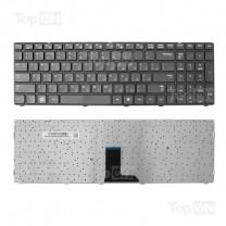 Клавиатура для ноутбука Samsung R580, черная, с рамкой