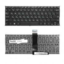 Клавиатура для ноутбука Asus X200CA, черная, без рамки