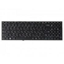 Клавиатура для ноутбука Samsung RV520, черная, без рамки