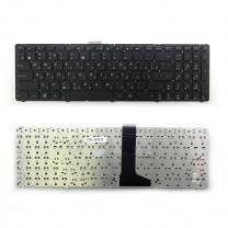 Клавиатура для ноутбука Asus U52, черная, без рамки