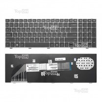 Клавиатура для ноутбука HP ProBook 4540s, черная, с рамкой