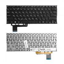 Клавиатура для ноутбука Asus X201, черная, без рамки