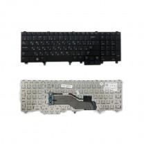 Клавиатура для ноутбука Dell E5520, черная